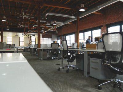 Et la réalisation de bureaux