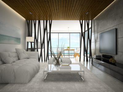 Nous réalisons l'agencement d'intérieurs au design moderne